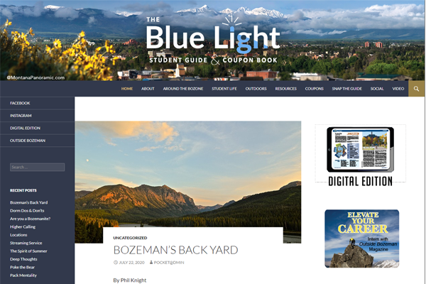 The Blue Light Student Guide & Coupon Book