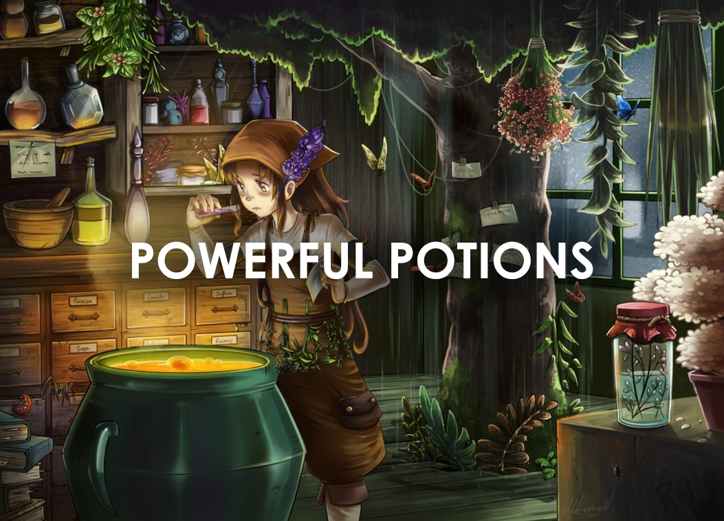 Powerful Potions