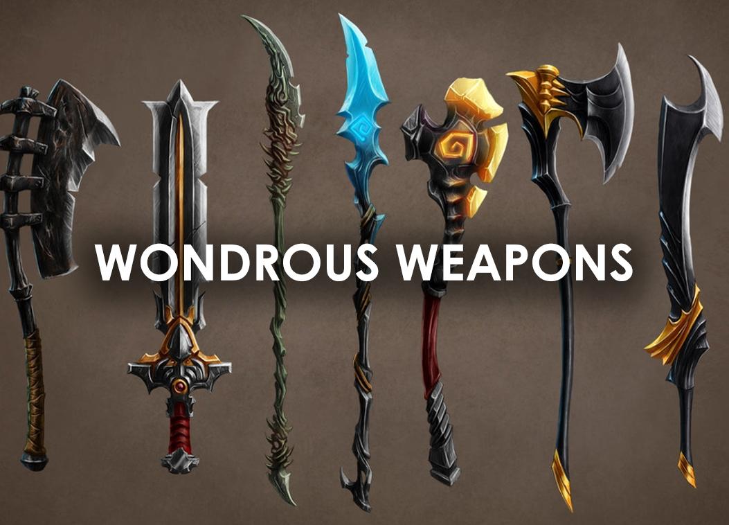 Wondrous Weapons